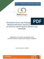 Resolución de Conflictos en las Bambas - Perú
