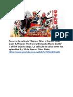 KR Gaim 10.0 (Kamen Rider x Kamen Rider Gaim & Wizard_ the Fateful Sengoku Movie Battle)