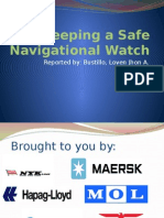 Keeping a Safe Navigational Watch