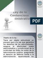 Ley de lo Contencioso  Administrativo.pptx