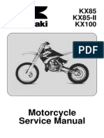 2008 KX100 Manual
