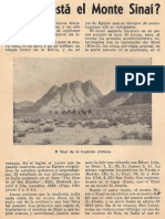 Straubinger - Donde Esta El Monte Sinai
