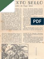 Straubinger - El Sexto Sello - Un Libro de Hugo Wast