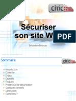 Sécurité sur le Net