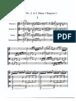 Haydn Quarteto -Emperor- Em Do Maior Op.76, n.3, Mov I