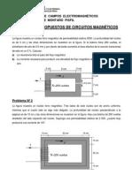 Problemas Propuestos de Circuitos Magnéticos-2014