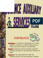 INSURANCE AUXILLIARY SERVICES
