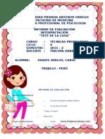 Informe Evaluacion Mga - Testdelacasa