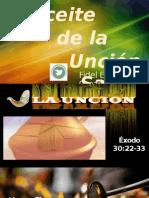El Aceite de La Santa Unción -Version on Line