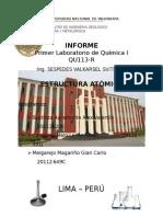 Informe Lab 1 Quimica