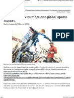Global Data_ Cycling is Now Number One Global Sports Market - BikeRadar