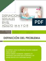 DISF. Sexuales en El Adulto Mayor