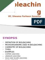 Bioleaching