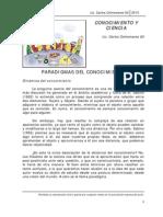 Conocimiento y Ciencia - Lic. Carlos Colmenares