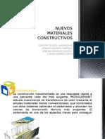 NUEVOS MATERIALES CONSTRUCTIVOS