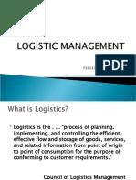 14425163 Logistic Management