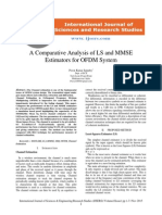 A Comparative Analysis of LS and MMSE Estimators for OFDM System