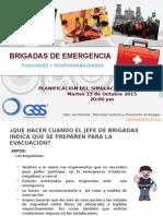 Charla Brigadas ENCARNACION Simulacro 13-10-2015