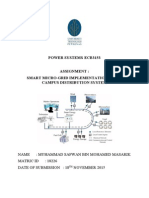 POWER SYSTEMS Assignment Smart Micro Grid
