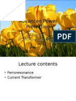 Advanced Power Protection lecture