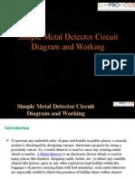 Simple Metal Detector Circuit Diagram and Working