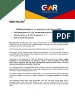 GMR Kamalanga Energy Ltd. gets revised tariff order from CERC [Company Update]
