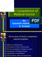 The Competence of M.D