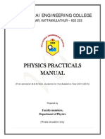 Physics Lab Manual 2014