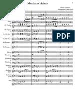 Musikatu Bizitza (Arrangement Iñigo Isasti)