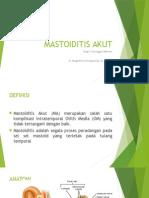 Mastoiditis Akut