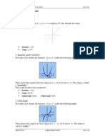 Basic Graphs and Functions(2) Mathematic April 2014