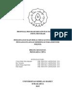 Kerangka Proposal PKM KC 2015