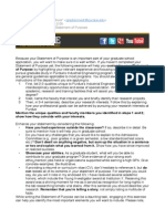 How to Write Essay Statement - From Purdue Copy