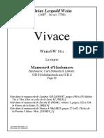 Has13 W Vivace