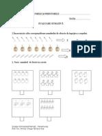 Evaluare Matematica Cl 1