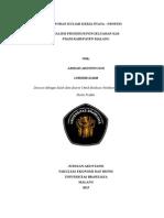 lembar pengesahan laporan KKN Analisis Prosedur pengeluaran Kas PDAM