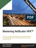Mastering Netscaler VPX TM - Sample Chapter