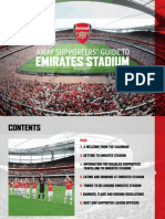 Away Supporters Guide ARSENAL - GNK Dinamo