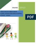 KATH_DCH Treatment Guidelines