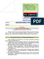 Architectural Policy