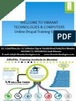 Online Drupal Training Syllabus