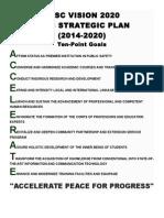 Ppsc Vision 2020