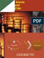 Analisis Kimia Kuantitatif