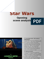 Example Moving Image Analysis - Star Wars