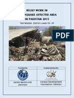 Relief Work Earth Quake 2015