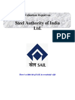 Amit SAIL Valuation Report