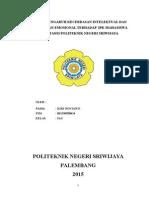Cover Analisis Pengaruh Kecerdasan Intelektual Dan