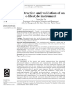 Construction and validation of an e‐lifestyle instrument.pdf