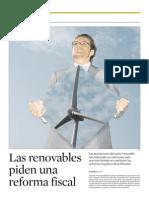 Reforma fiscal renovables