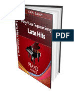 Piano Sheet Music Books Lata Hi - Raj Balan s
